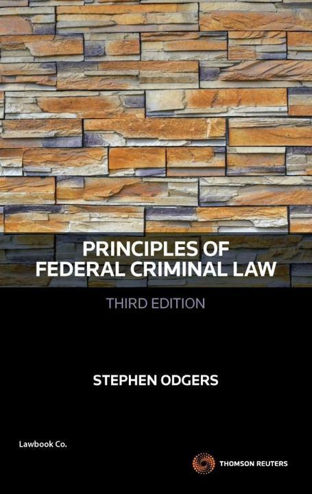 Principles of Federal Criminal Law 3e