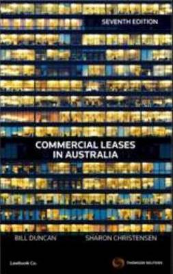 Commercial Leases in Australia 7e