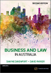 Business and Law in Australia 2e