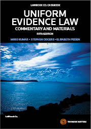 Uniform Evidence Law: C&M 5e