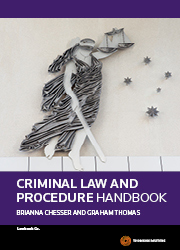Criminal Law&Procedure Handbook for ACU