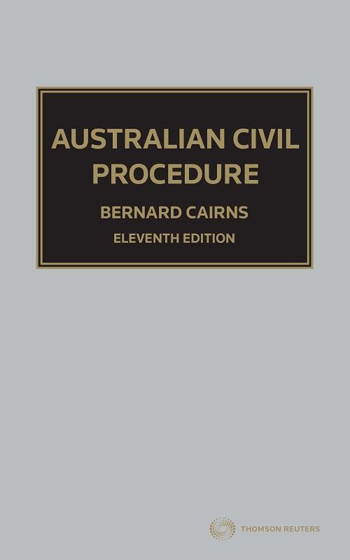 Australian Civil Procedure 11e