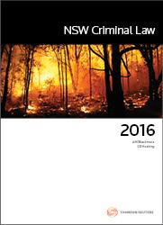 NSW Criminal Law 2016