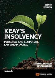 Keay's Insolvency 9e