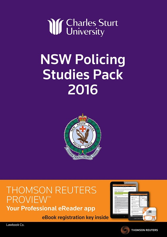 2016 NSW Policing Studies eBook Pack