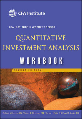 Quantitative Investment Analysis: Workbook