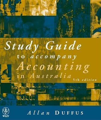 Accounting in Australia 5e Study Guide