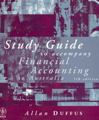 Financial Accounting in Australia 5e Study Guide