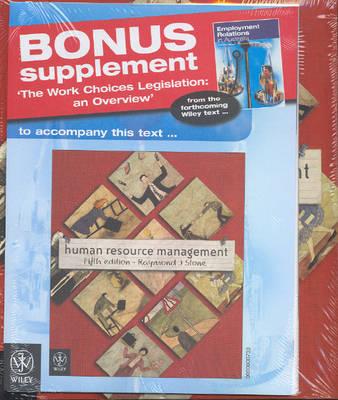 Human Resource Management: Workchoices Supplement