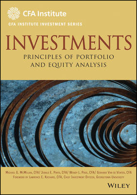 Investments; Principles of Portfolio and Equity Analysis