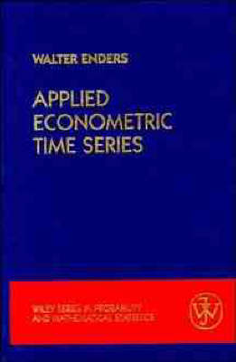 Applied Econometric Time Series: User's Guide