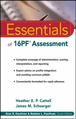 Essentials of 16PF Assessment