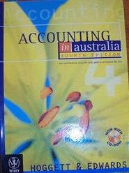 Accounting in Australia 4e