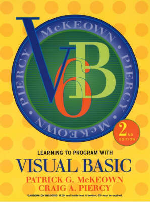 Learning to Program with Visual Basic 6.0