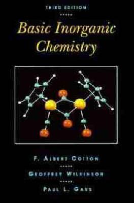 Basic Inorganic Chemistry 3ed Wie