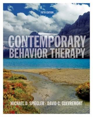 Contemporary Behavior Therapy