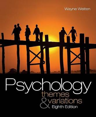 Psychology : Themes and Variations (with Concept Charts)