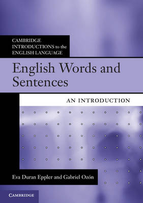 English Words and Sentences: An Introduction