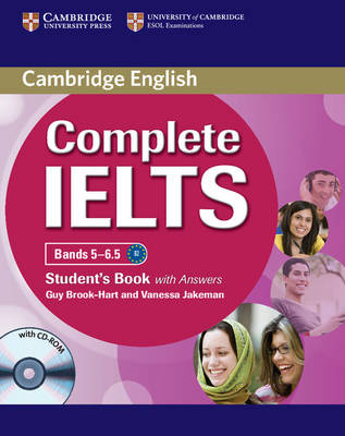 Complete IELTS Bands 5-6.5 Student's Book with Answers with CD-ROM