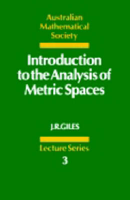Introduction to the Analysis of Metric Spaces