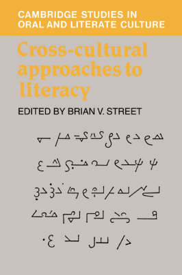 Cross-Cultural Approaches to Literacy
