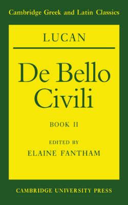 Lucan: De bello civili Book II: Bk. 2