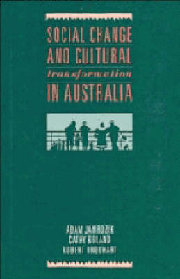 Social Change and Cultural Transformation in Australia