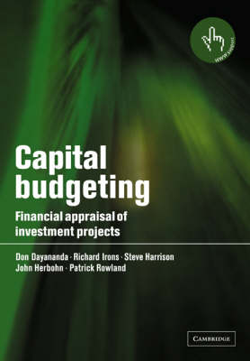 Capital Budgeting: Financial Appraisal of Investment Projects