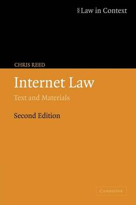 Internet Law: Text and Materials