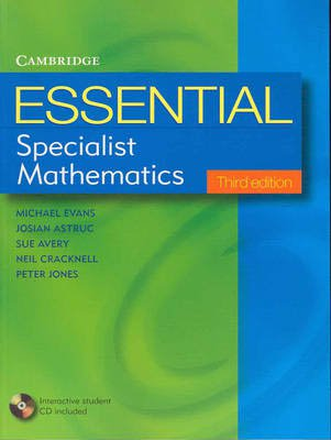 Essential Specialist Mathematics with CD-Rom