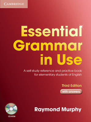 Essential Grammar in Use with Answers and CD-ROM Pack: A Self-Study Reference and Practice Book for Elementary Students of English