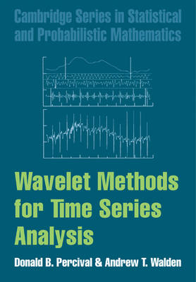 Wavelet Methods for Time Series Analysis