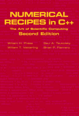 Numerical Recipes in C++: The Art of Scientific Computing