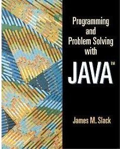 Programming and Problems Solving with Java