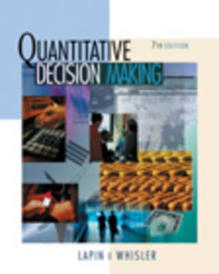 Quantitative Decision Making with Spreadsheet Applications
