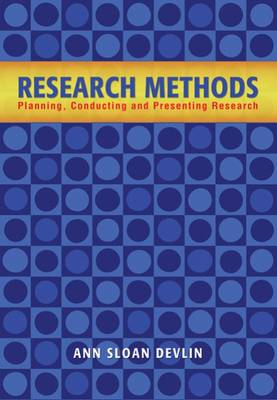 Research Methods : Planning, Conducting, and Presenting Research