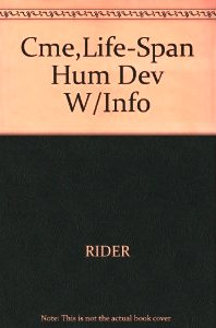 Cme,Life-Span Hum Dev W/Info