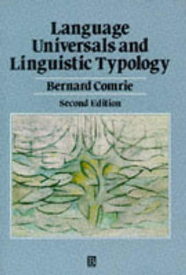 Language Universals, Linguistic Typology, Syntax and Morphology