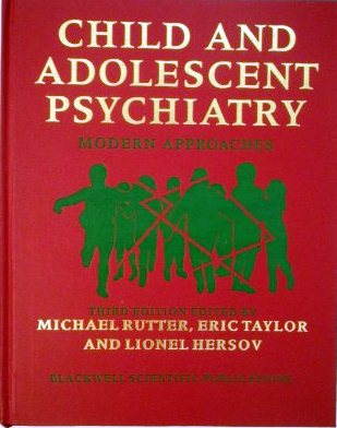Child and Adolescent Psychiatry: Modern Approaches