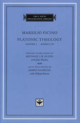 Platonic Theology: v.1: Books 1-4