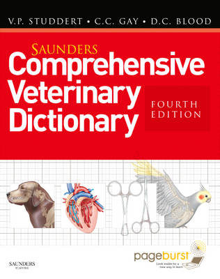 Saunders Comprehensive Veterinary Dictionary: Includes EBook Access