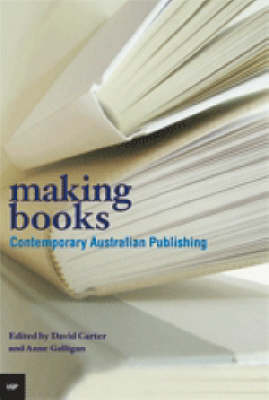 Making Books: Contemporary Australian Publishing