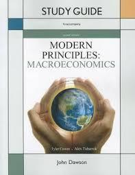 Modern Principles of Economics+ Macro + Micro Study Guides (package)