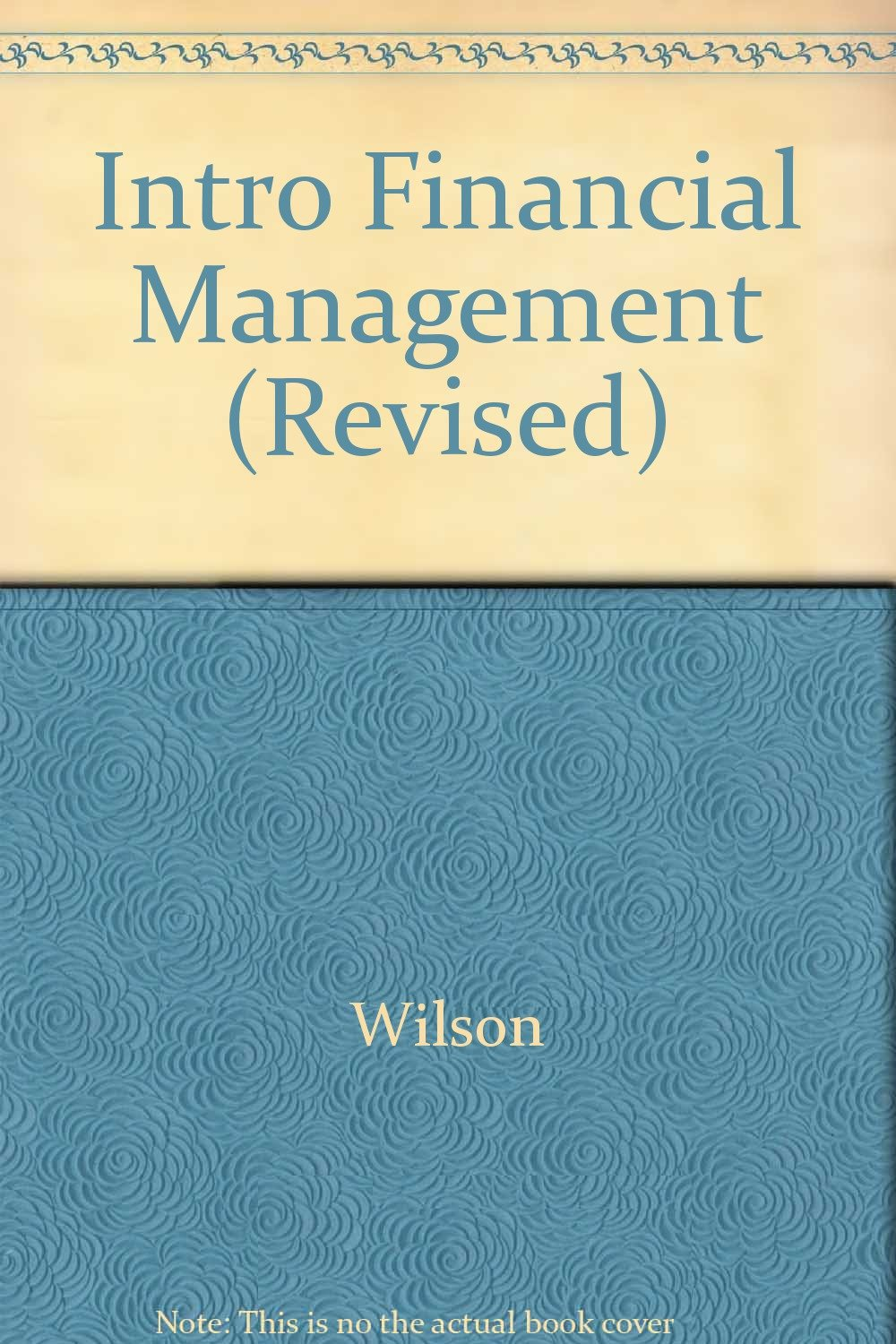 Intro Financial Management (Revised)