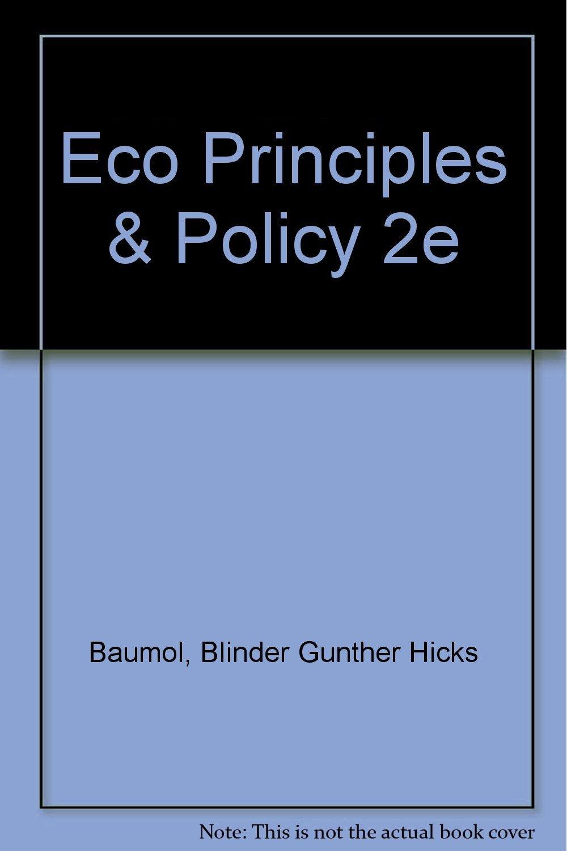 Eco Principles & Policy 2e