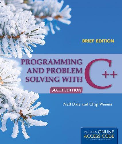 Dale/prog & Prob Solving In C++/lab