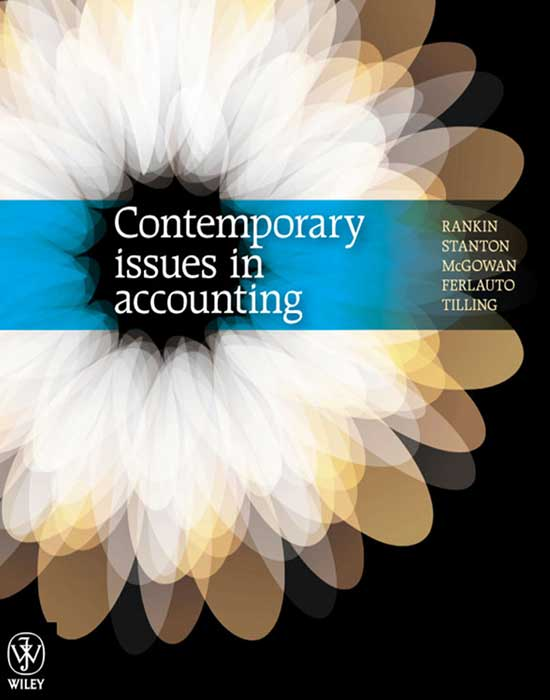 Contemporary Issues in Accounting, 1st Edition