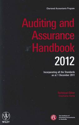 Auditing and Assurance Handbook: Incorporating All the Standards as at 1 December 2011: 2012