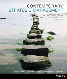 Contemporary Strategic Management an Australasian Perspective 2nd Edition Binder Ready Version