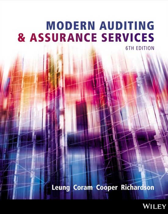 Modern Auditing & Assurance Services, 6th Edition